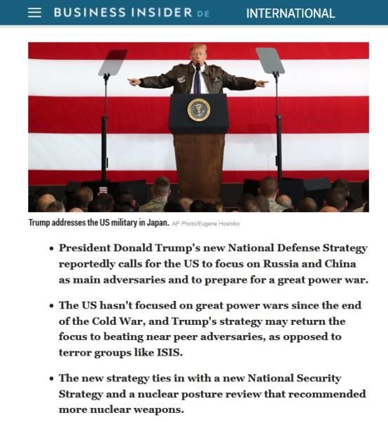 BI Trump great power war